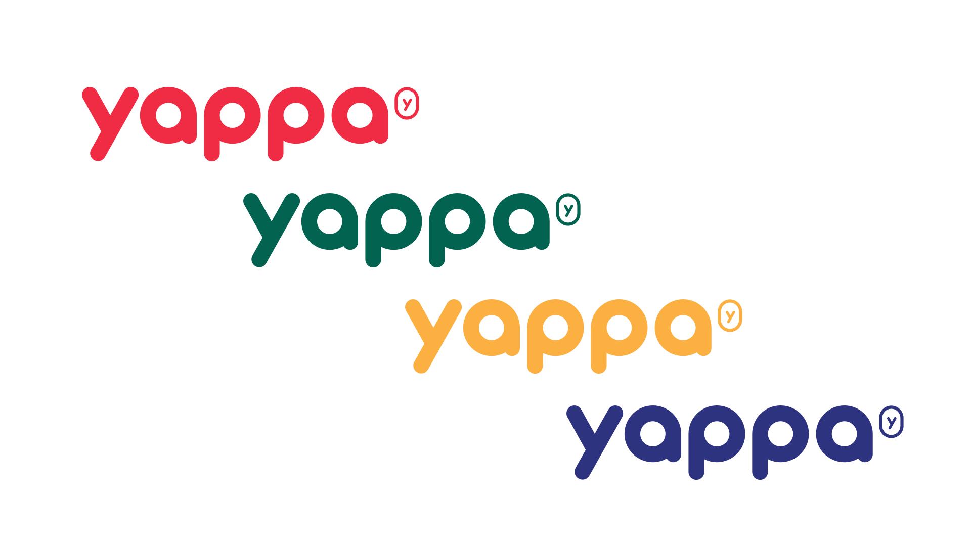 Yappa kleuren huisstijl