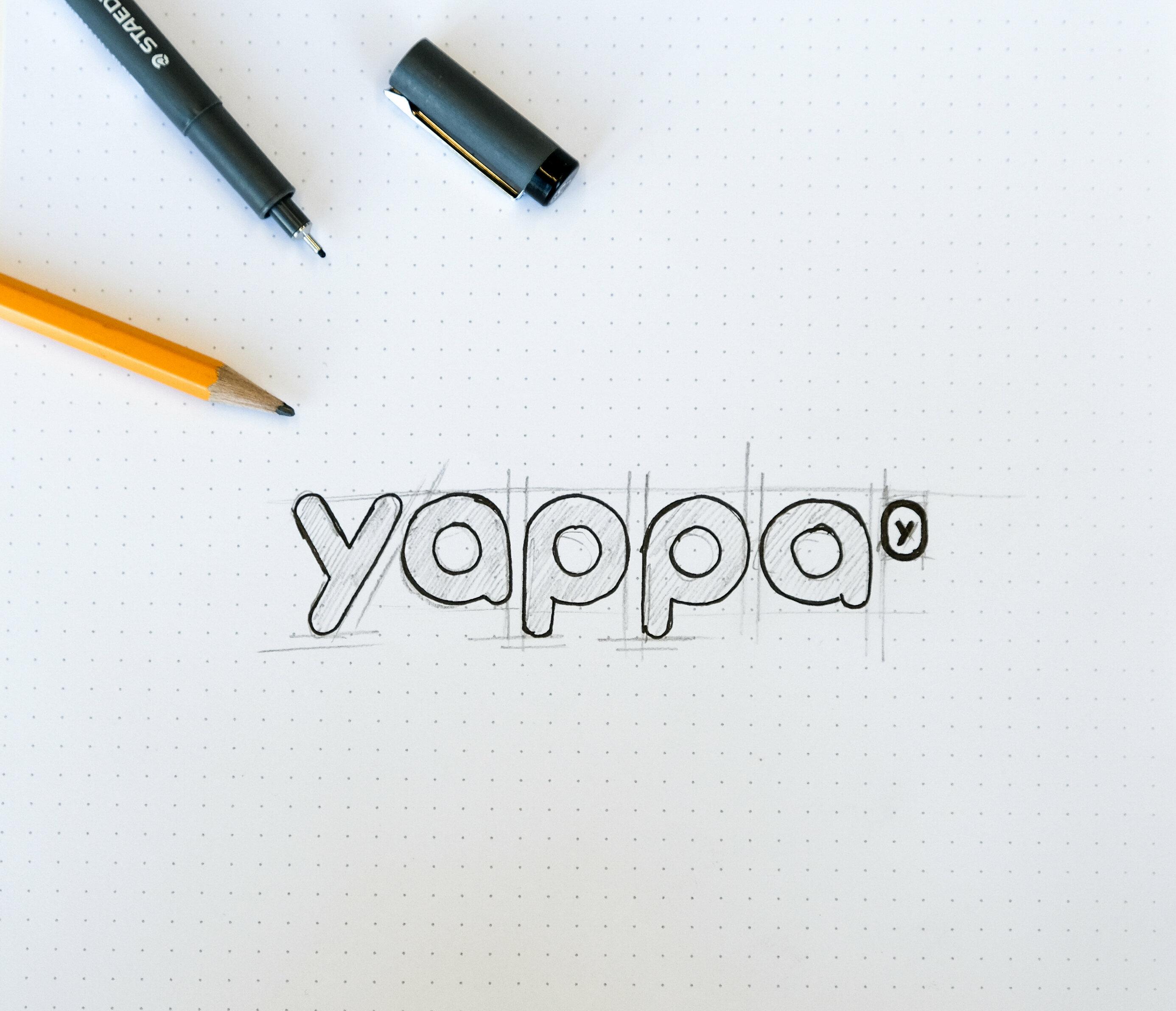 Yappa logo design